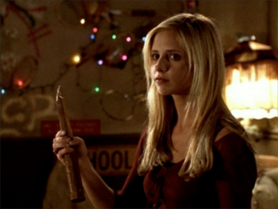 siku 5 - Best punda kicker Buffy Summers from Buffy the vampire slayer, she will always be my favorit