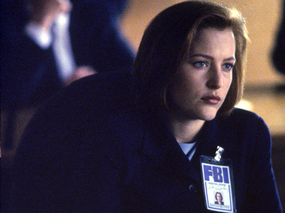 siku 14 - inayopendelewa heroine Dana Scully from The X Files
