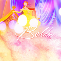 Mine ^^ Bella is Belle's name in the Spanish version.