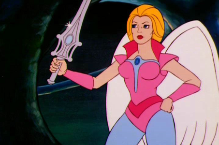 queen Angella (She-Ra) Post an animated character that cries a lot