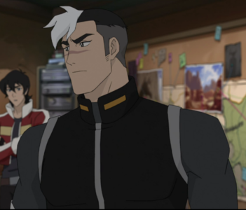 Shiro (Voltron) Post an animated character in their 30s