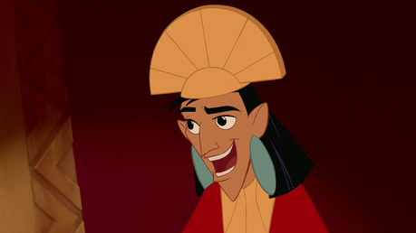 Kuzco (Emperor's New Groove) Post an animated character with freckles