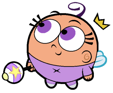 Poof (Fairly Odd Parents)  Post an animated character that's mixed race