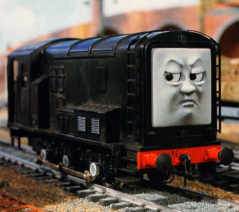 Name: Diesel Passenger Number: #00018 Location: Sodor Crimes: Being a massive d-bag to the other t