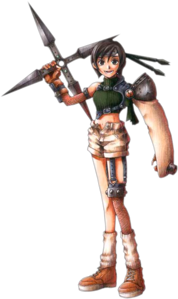 Name: Yuffie Kisaragi Passenger Number: #00022 Location: Gaia Crimes: Yuffie was your typical brat