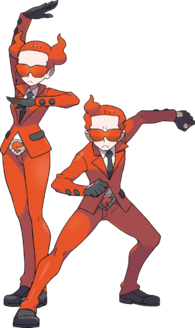 Name: Team Flare Passenger Number: #33 to #389 Location: Kalos Region Crimes: Consisting of a grou