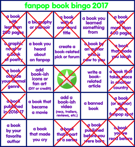 I also got a bingo; - Less than 200 pages; Light House Lane (books 1 and 2) - Bio/Memoir; t.A.T