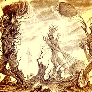 día 2 - favorito! battle? Isengard; the Ents are so cool!