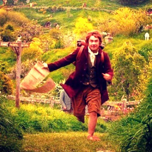 día 3 - favorito! character? I amor so many of the characters, but I think Bilbo is my favorite.