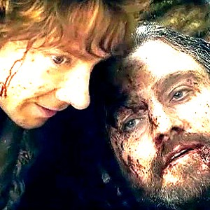 día 4 - Scene that makes tu sad? Thorin dies in Bilbo's arms