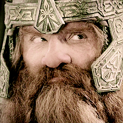 [b]Day 8 - favorito! dwarf?[/b] Gimli. I couldn't get into the Hobbit movies, so he's kinda all I go