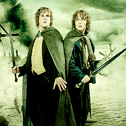 [b]Day 11 - favorito! friendship?[/b] Merry & Pippin