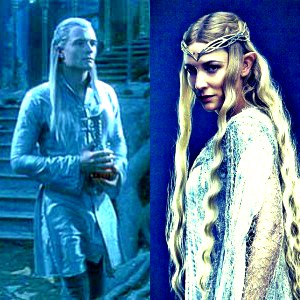 día 14 - favorito! outfit? I amor the elves' outfits in Lothlorien.