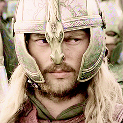 [b]Day 16 - favorito! man?[/b] I bumped Faramir to #1 on día 2, so I'll let Eomer have today. He's v