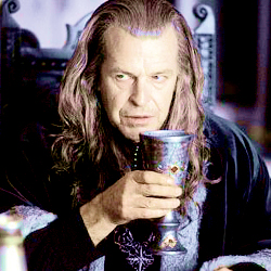 [b]Day 23 - Least favorito! character?[/b] Grima Wormtongue was a sleazy little weasel, but my hatred