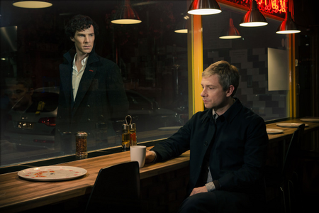 [b][i]Day 15 — A moment that made u squeal[/b] Sherlock is still alive (2x03)[/i]