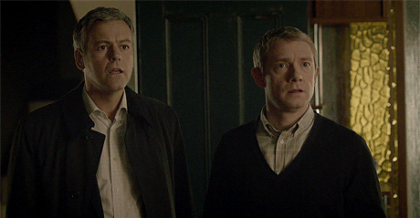 [b][i]Day 17 — Character that you're most similar to [/b] John, maybe. of Lestrade.[/i]