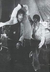 John and Ringo Dancing :)