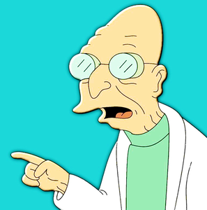 [b]03. favorit character[/b] I absolutely adore Professor Farnsworth! He's funny and always has the