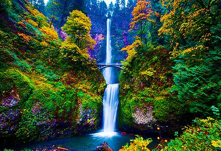 [b]05. 最喜爱的 natural phenomenon[/b] Multnomah Falls is beautiful. I 爱情 the layered waterfall su