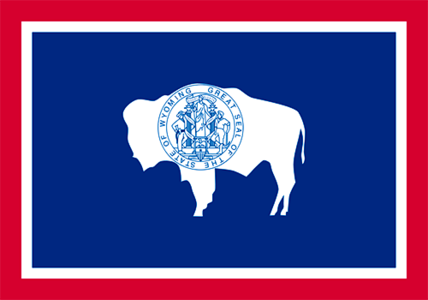 [b]09. Best state flag [/b] I think Wyoming has a pretty cool flag. Though TBH, most are very under