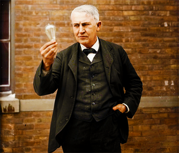 [b]12. 最喜爱的 historical figure (not President) [/b] Thomas Edison is probably the most important