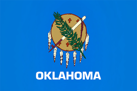 [b]09. Best state flag [/b] Oklahoma