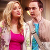 Okay so after much debating, I went with Sheldon & Penny! 1.) We both l'amour their friendship! 2.) I