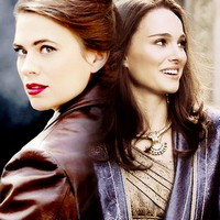 The two Marvel ladies I associate 你 two most with <333