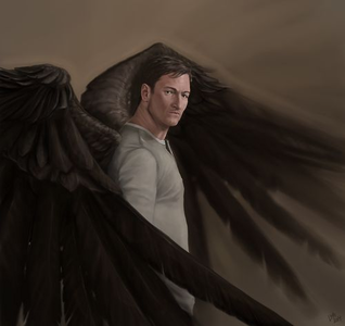 "Name: Gadreel Race: Angel Age/D.O.B: ""I think te wouldn't be able to count that high, young o"