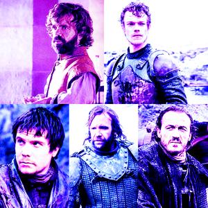 [u][b]Top 5 male characters:[/b][/u] 1. Tyrion 2. Theon 3. Gendry 4. Sandor 5. Bronn