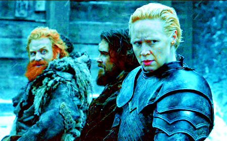 [b]Favorite non-canon couple?[/b] Tormund & Brienne (YOU BASTARDS)