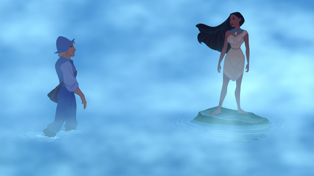 दिन 11: Favourite moment/scene of your favourite DP The scene where she meets John Smith. Such a b