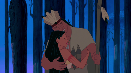 दिन 13: Favourite DP with one या both of her parents Pocahontas with Powhatan.