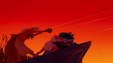 日 19: Bravest moment of your favourite DP When she saves John Smith