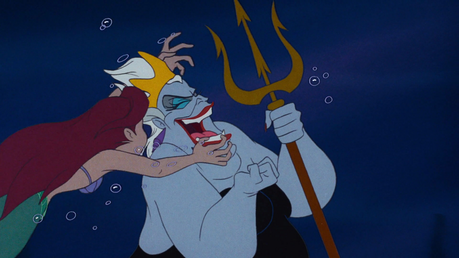 日 19: Ariel haters seem to forget that Ariel attacked Ursula twice: once, for turning her father in