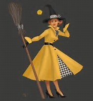 icono 1- What a classy witch !