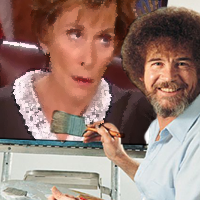 bob ross crossover w judge judy