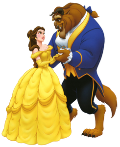I know this is like the basic answer but I really l'amour belle's ballgown because I l'amour the color yel