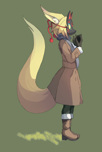 [b]Name)[/b] Fosky [i](Fos-Ski)[/i] [b]Nickname?)[/b] whiskers [b]Gender)[/b] Foxy Female. [b]Age)