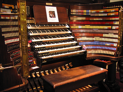 Organ is capable of imitating any other existing musical instrument. Long before the synthesizer aka
