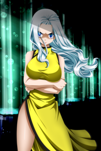 Mirajane Strauss from Fairy Tail. Once again, a Character that possesses a lot of qualities that I