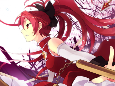 Kyoko Sakura I need to rewatch this (which I probably will never get around to doing) but I do rec