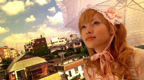 Momoko from Kamikaze Girls -Lolita -Looks kawaii but is actually kind of a grump -Prefers the c