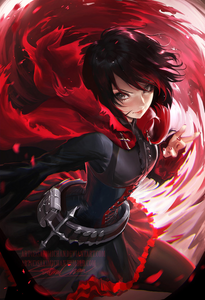 Ruby Rose from RWBY. - A dreamer - The desire to accomplish goals she has set on sight - Certai