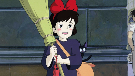 How about her? She's Kiki from Ghibli movie Kiki's Delivery Service.