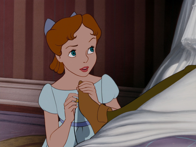 Wendy from Peter Pan. I think Alice looks lebih like Cinderella but since Alice and Wendy have the exa