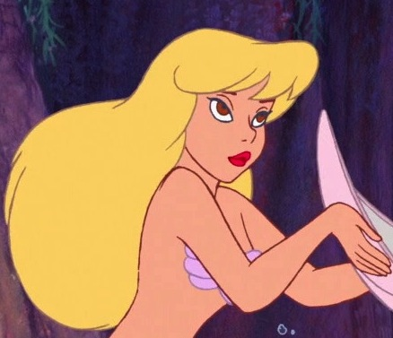 This blonde mermaid from the Peter Pan films (This particle picture being from Return to Neverland).