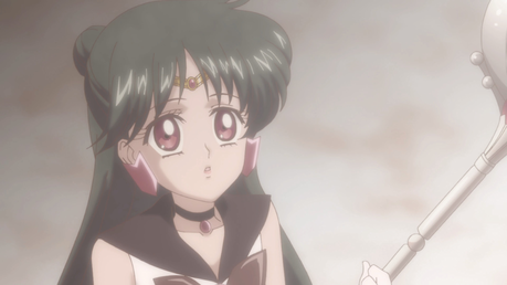 Non-Disney, a young Setsuna Meiou (Sailor Pluto) from Sailor Moon.