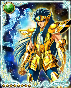 BlindBandit reminds me of Aquarius Camus from Saint Seiya - Cold - Indifferent - Doesn't allow h